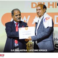 O.P malhotra_lifetime service
