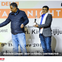 praveen lohani - best external contributor 2